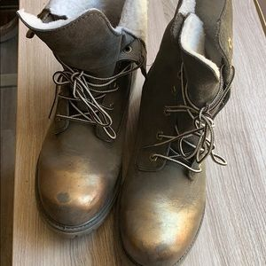 Timberland boots used worn twice